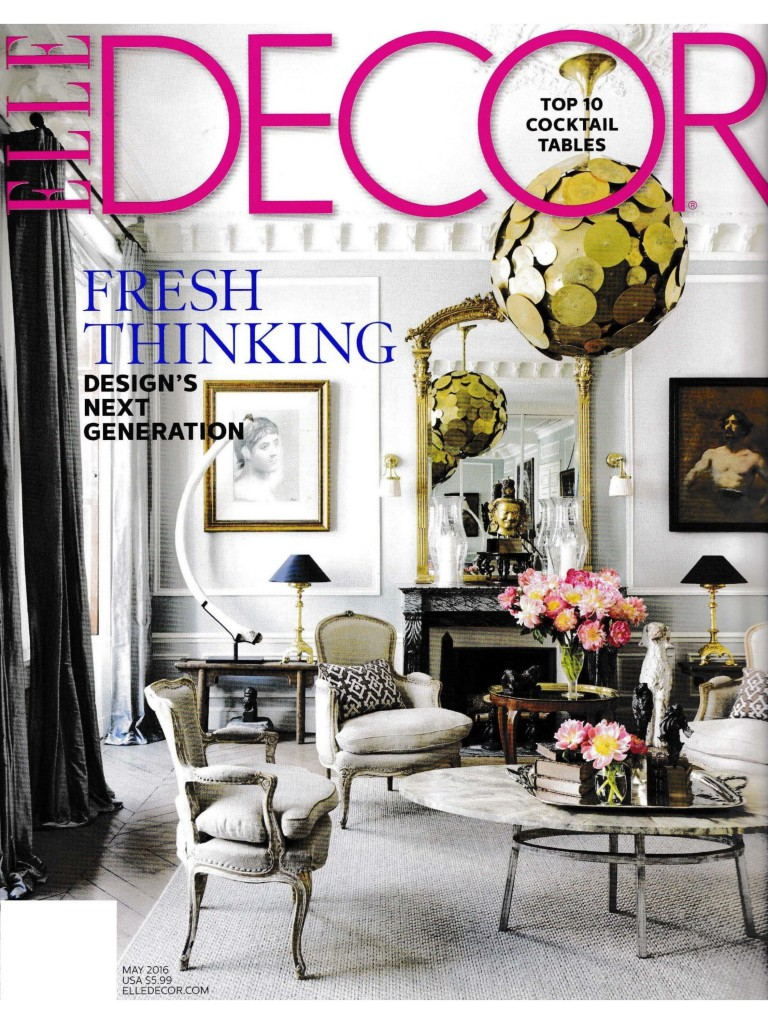 Elle Décor - May 2016